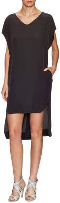 Superfine Women's Trouble Silk Tunic Dress