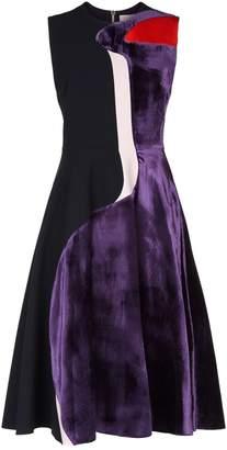 Roksanda Cora Colour-Block Dress