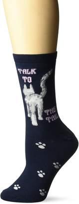 Laurèl Burch Women's Rainbow Giraffe Sock