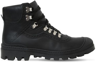 Loewe LEATHER HIKING BOOTS