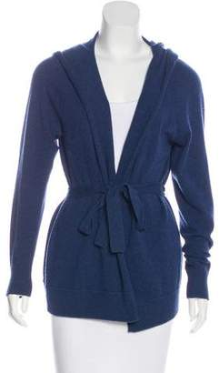 Max Mara Hooded Cashmere Cardigan