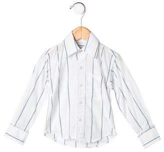 Steven Alan Boys' Striped Button-Up Shirt
