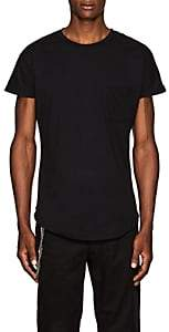 Chapter MEN'S SLUB COTTON-BLEND JERSEY T-SHIRT - BLACK SIZE XS