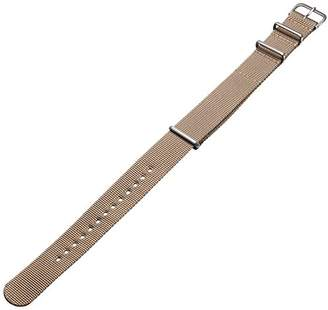 BEIGE Hadley-Roma MS4210RAB200 20mm Nylon Watch Strap