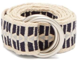 Guanabana - Aztec Pattern Belt - Mens - Black Multi