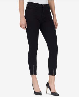 3ba6ac9e978 ... William Rast High-Rise Ankle-Zip Skinny Jeans