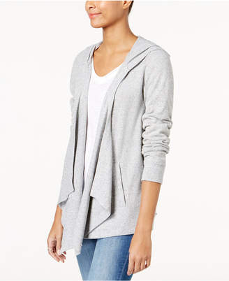 INC International Concepts I.n.c. Hooded Open-Front Cardigan