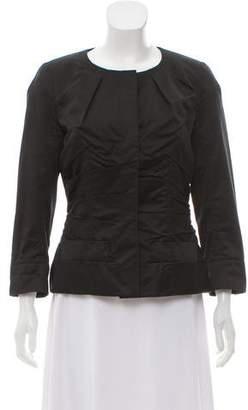 Nina Ricci Pleated Long Sleeve Jacket