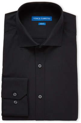 Vince Camuto Black Slim Fit Dress Shirt