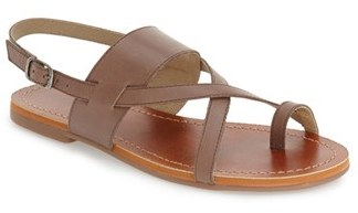 Lucky Brand 'Ellsona' Slingback Sandal $58.95 thestylecure.com