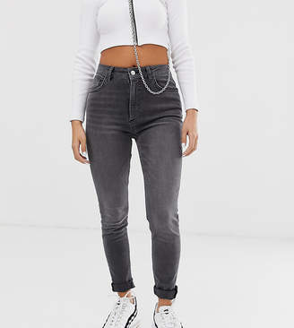 Reclaimed Vintage inspired The '90 skinny jeans in grey wash