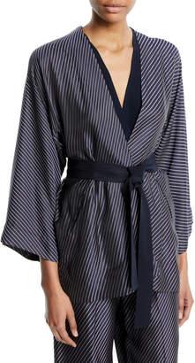 Zero Maria Cornejo Oki Self-Tie Wrap Jacket