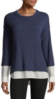 Brochu Walker Looker Layered Crewneck Sweater