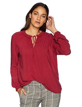 Velvet by Graham & Spencer Women's Samantha Rayon Challis Blouse