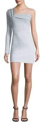 Baja East Hudson Jeans Contour Mini Dress