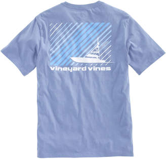 Vineyard Vines Striped Sportfisher Pocket T-Shirt
