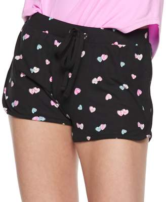 So Juniors' SO Printed Dolphin Hem Shorts