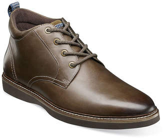 Nunn Bush Mens Ridgetop Flat Heel Lace-up Chukka Boots