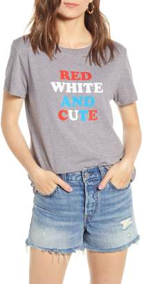 Sub Urban Riot Sub_Urban Riot Red, White & Cute Graphic Tee