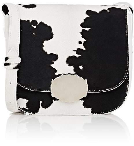 CALVIN KLEIN 205W39NYC Women's Cow Hair Saddle Bag