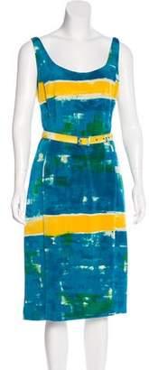 Samantha Sung Printed Julianne Dress w/ Tags