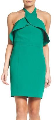 Women's Adelyn Rae Halter Sheath Dress $88 thestylecure.com