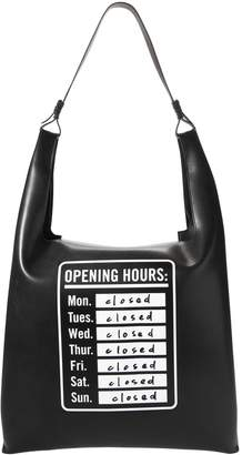 Elizabeth and James Opening Hours Bodega Shoulder Bag