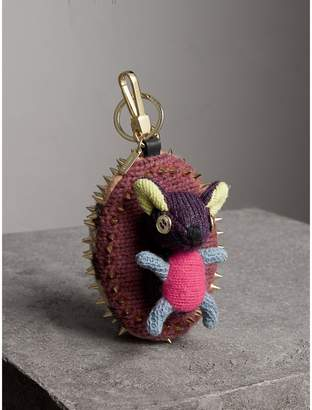 Burberry Bob The Hedgehog Cashmere Charm