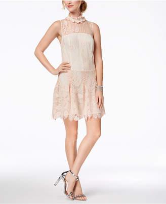 Nanette Lepore (ナネット レポー) - Nanette Lepore Embroidered Illusion Dress