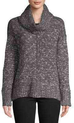 Jones New York Textured Cowlneck Sweater