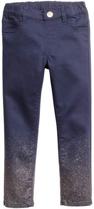 H&M Twill Treggings - Blue