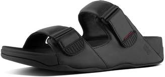 FitFlop Gogh Men's Moc Leather Slides