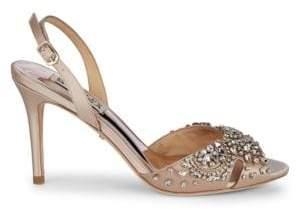 Badgley Mischka Paula Embellished Sandals