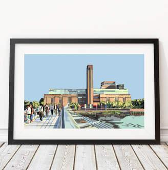 Tomartacus Tate Modern, London Illustration Art Print