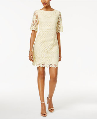 Jessica Howard Lace Shift Dress $89 thestylecure.com