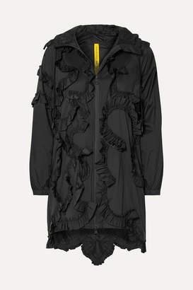 Simone Rocha Moncler Genius - 4 Ruffled Shell Jacket - Black