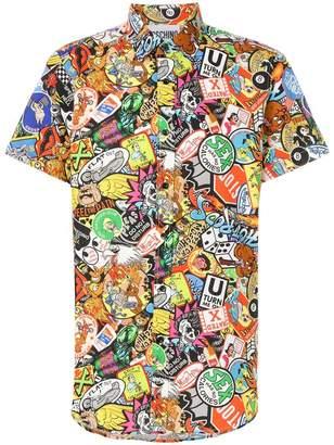 Moschino hyper-print shirt