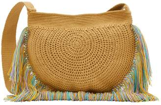 Soraya Hennessy Fringes shoulder bag