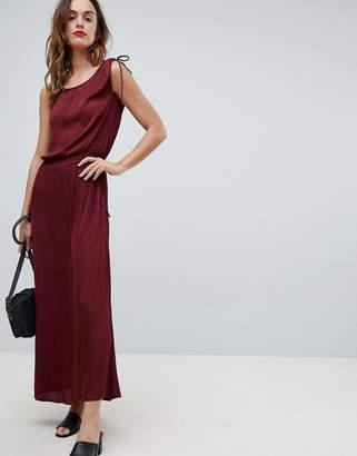 Sisley Tie Waist Maxi Dress