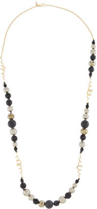 Alexis Bittar Coiled Pearly Bead Necklace