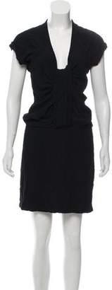 Isabel Marant V-Neck Mini Dress