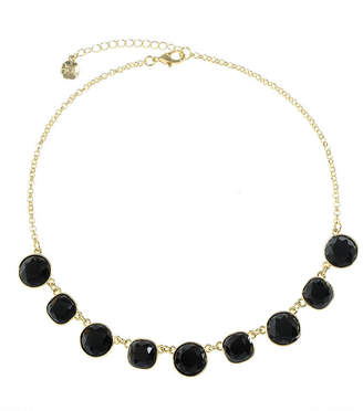 MONET JEWELRY Monet Jewelry Womens Black Collar Necklace