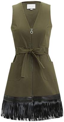 Alexis Lottie Fringe Hem Dress
