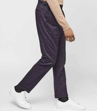 Reiss ELMER Modern-fit twill trousers