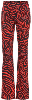 Calvin Klein Tiger high-rise straight jeans