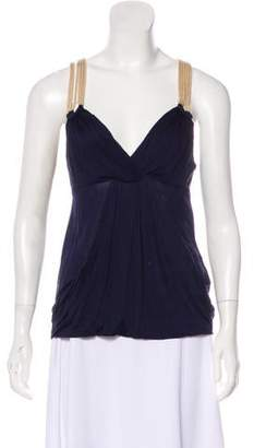 3.1 Phillip Lim Sleeveless Pleated Top