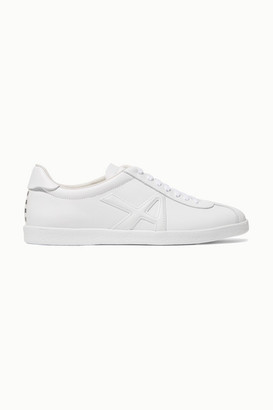 Aquazzura The A Leather Sneakers - White