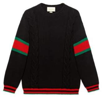 Gucci Cable knit sweater