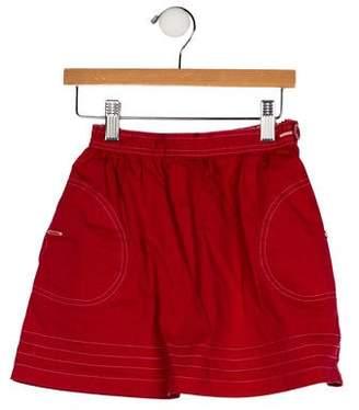 Cacharel Girls' Two Pocket Skirt