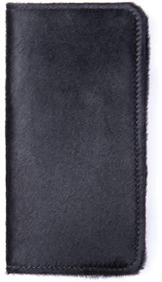 William Shanghai Black Hair Wallet